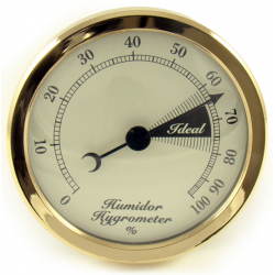 Hygrometer Replacement for Humidor 75 mm