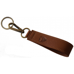 Key Ring - Made in EU - Albrunus, Brown