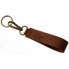 Key Ring - Made in EU - Albrunus, Brown