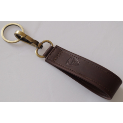 Key Ring - Made in EU - Ferruginus, Brown