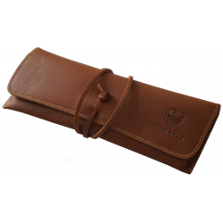 GERMANUS Albrunus Pencil Case - Made in EU - Leather