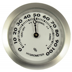 Hygrometer als Ersatz für Humidor 50 mm