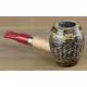 Original Missouri Qualitäts Corncob Pfeife - Shape: Carolina Gent