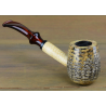 Original Missouri Qualitäts Corncob Pfeife - Shape: Charles Towne Cobbler