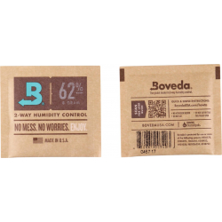 Boveda Humidipak 2-way Humidifer 62%, 8g