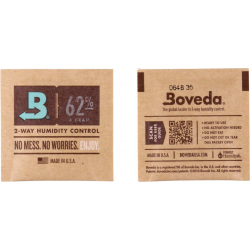 Boveda Humidipak 2-way Humidifer 62%, 4g