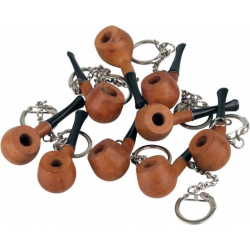 Briar Pipe Keyring - Actually Smokable.