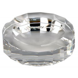 Passatore Genuine Crystals Glass Ashtray
