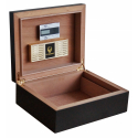 GERMANUS Cigar Humidor '48, The Quality Classic Set with Premium Digital Hygrometer