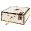 Humidor Cigarbox für ca. 50 Zigarren