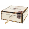 Cigar Humidor Cigarbox Chest for ca. 50 Cigars