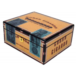 Cigar Humidor Cigarman Chest for ca. 50 Cigars