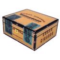 Humidor Cigarbox Karibik für ca. 50 Zigarren