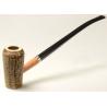Original Missouri Qualitäts Corncob Pfeife - Shape: Cobbit Wizard