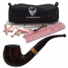GERMANUS Pipe Set, Bee, Straight Smooth, 10071-1