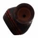 GERMANUS Pipe Set, Reverse Calabash, Straight Sand, 10105-2