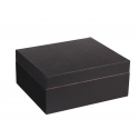 Special Offer: GERMANUS Classic 43 Cigar Humidor in Black with Leather Cover