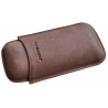 Cigar Case from leather, 2 Ct. - Lonsdale