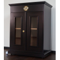 GERMANUS® Cigar Humidor Cabinet Commode No. 2 with GERMANUS Humidifier for ca 50 boxes of cigars