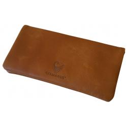 GERMANUS Tobacco Pouch -  Leather - Dark Brown