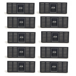 Sonderangebot: 10 x Angelo Humidor Zigarren Befeuchter XL mit Acrylpolymer Kristallen