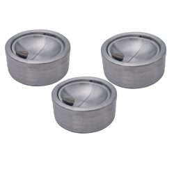 GERMANUS Storm Ashtray from Stainless Stell