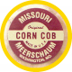 Original Missouri Quality Corncob Pipe - Shape: Feather Smooth, Billiard