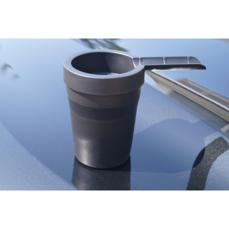 Outdoor Cigar Car Ashtray, wind proof for outside with Cigar Holder
