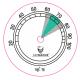GERMANUS Hygrometer Replacement for Humidor 43 mm