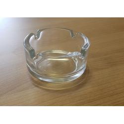 6 x Aschenbecher Glas für Zigaretten, klein