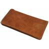 GERMANUS Calbrunus Tobacco Pouch -  Leather - Dark Brown