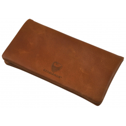 GERMANUS Tobacco Pouch -  Leather - Dark Brown
