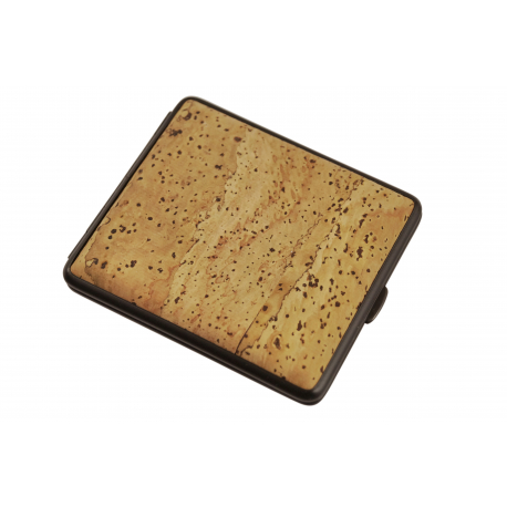 GERMANUS Cigarette Case from Steel and Cork - Made in Germany -  Cork