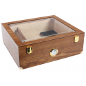 2nd Choice: GERMANUS Humidor for ca. 100 in Brown