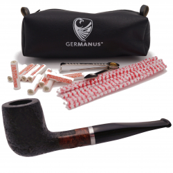 GERMANUS Pipe Billard, Mod. 153 Sand, BLack