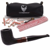 GERMANUS Pipe Billard, Mod. 153 Sand, Schwarz