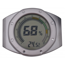 Adjustable Digital Humidor Hygrometer - Round III