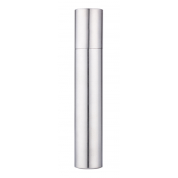 Universal Cigar Case Tube, Metal, Chrome