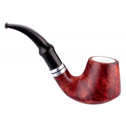 GERMANUS Pipe No. 14 with Meerschaum Inlay
