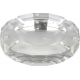 GERMANUS Solid Crystal Glass Cigar Ashtray