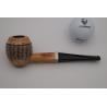 Original Missouri Quality Corncob Pipe - Shape: Franklin 150 Years