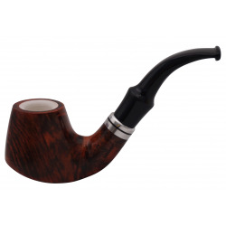 GERMANUS Pipe No. 14 with Meerschaum Inlay
