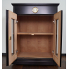 2nd Choice: GERMANUS® Cigar Humidor Cabinet Commode No. 2 with GERMANUS Humidifier for ca 50 boxes of cigars