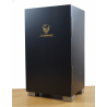 GERMANUS Humidor Cigar Cabinet, Closed Design, Black