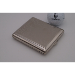 Special Offer: Cigarette Case, Made in Germany, Silver Colour, Venetia