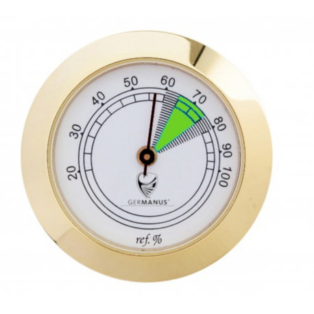 GERMANUS Hygrometer Replacement for Humidor 37 mm