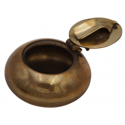 GERMANUS Quality Pocket Ashtray - Massive Brass