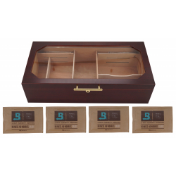 GERMANUS Humidor Chest Cigar Humidor, Boveda ready
