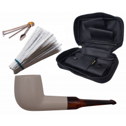 GERMANUS Premium Pipe Set Meerschaum