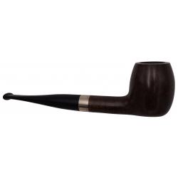 GERMANUS Pipe Premium With Silverring, Bent